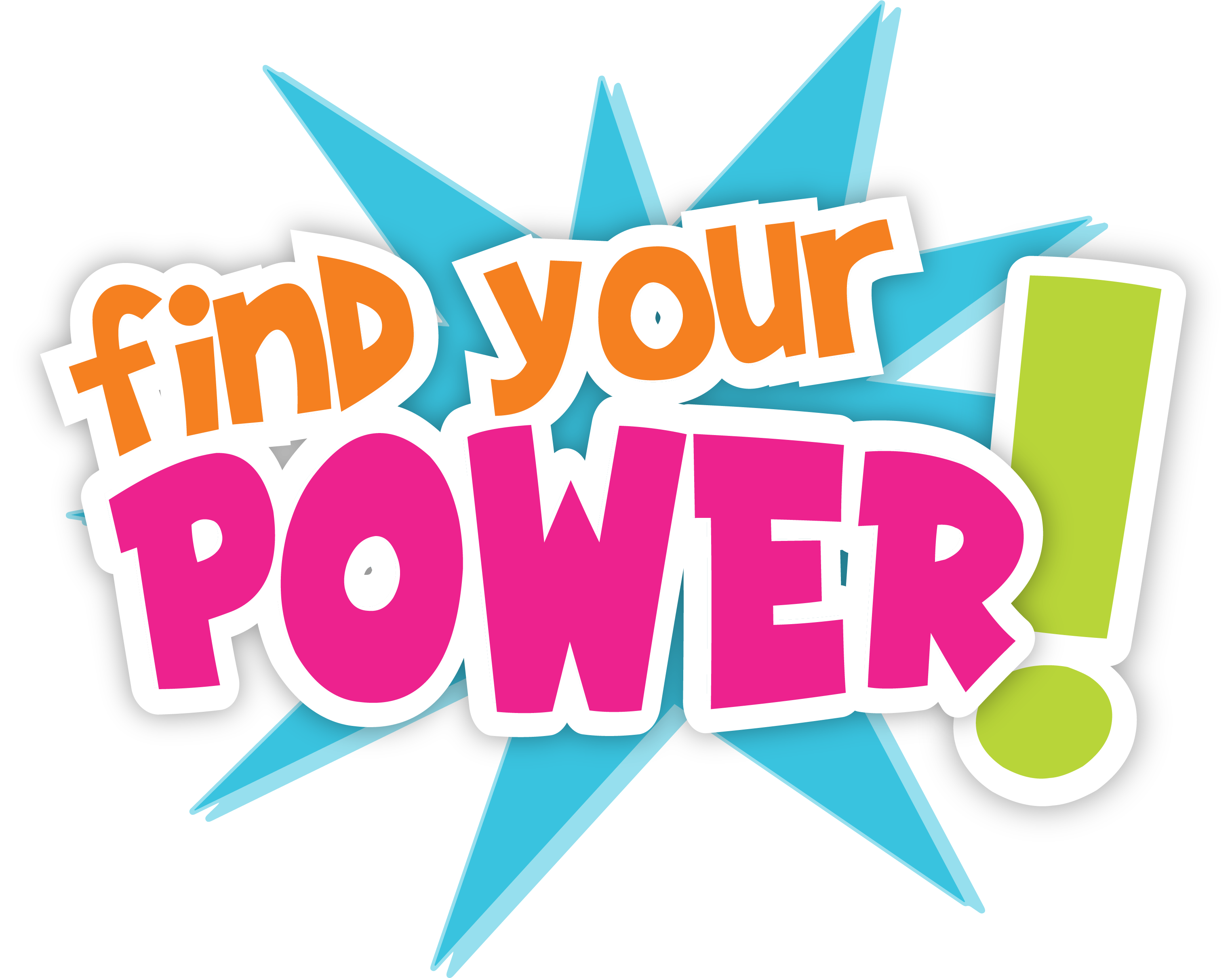 CW Kids Club – Spring Break 2021 – Find Your Power Logo
